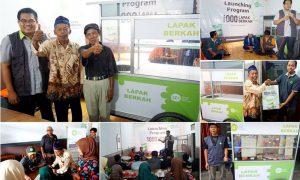 IZI Lancurkan Program 1000 Lapak Berkah Untuk Korban Banjir Garut