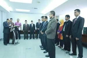 Ketua Baznas Lantik 3 Direktur Dan 5 Kepala Divisi Baru