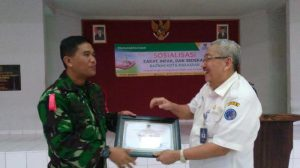 TNI AU Makassar Jadi Pelopor Zakat