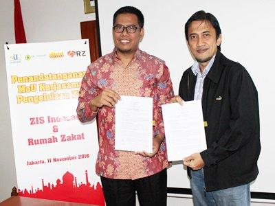 ZIS Indosat Bekerjasama Dengan RZ Dalam Pengelolaan Zakat