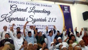 Koperasi Syariah 212 Mulai Rambah Pasar Modal