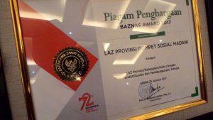 DSM Bali Raih BAZNAS Award 2017