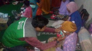 TIM DSM Bali Salurkan Bantuan ke Pengungsi Gunung Agung
