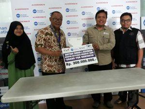 Baitulmaal Muamalat Salurkan 300 Juta untuk Rohingya