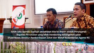 CEO LAZ Forum Sesi 2, Tantangan Tata Kelola Lembaga Zakat