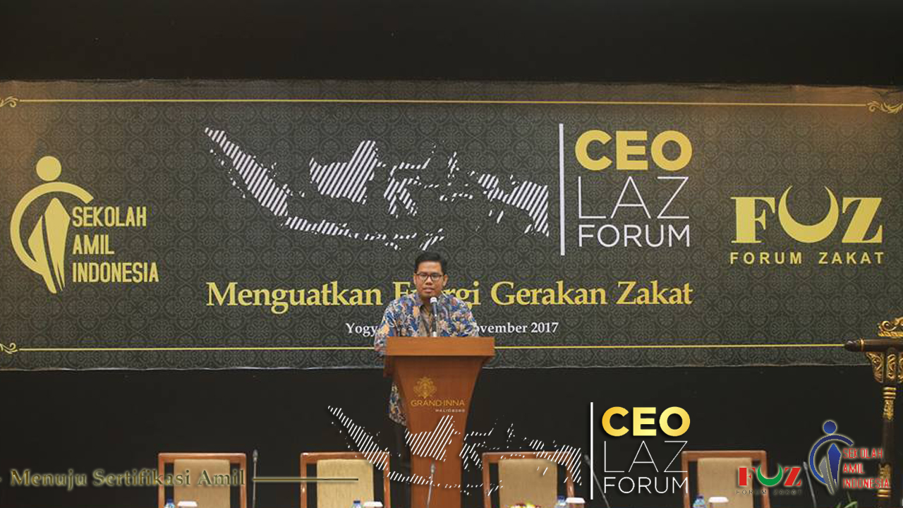 CEO LAZ Forum, Menguatkan Energi Gerakan Zakat Indonesia