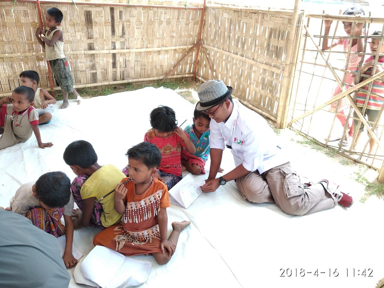 Forum Zakat Kembali Salurkan Bantuan untuk Pengungsi Rohingnya
