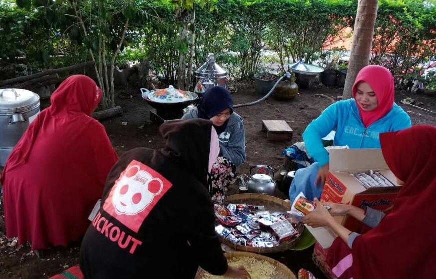 Bantu Korban Gempa, Forum Zakat Bangun 21 Posko Help Center Gempa Lombok