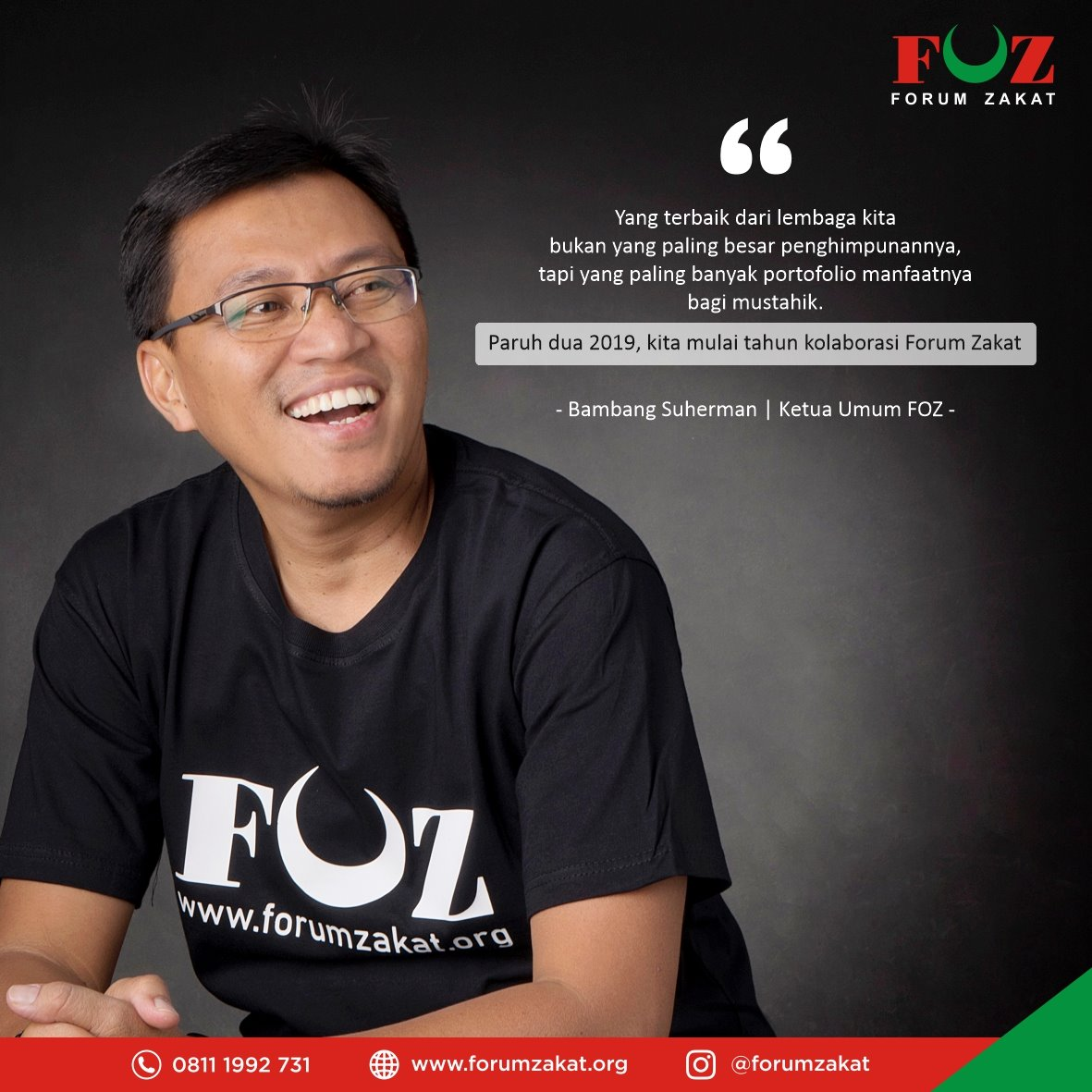 FOZ Dorong Terjadinya Kolaborasi Antar Lembaga Zakat