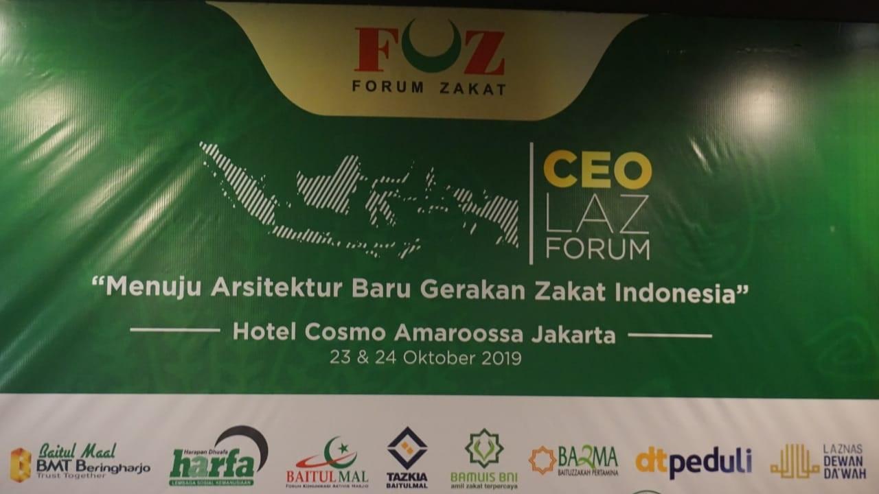 CEO LAZ Forum 2019 Gagas Penguatan Regulasi Zakat