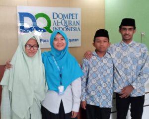 Penerima Bea Siswa DQ Sukses Setorkan Hafalan 30 Juz