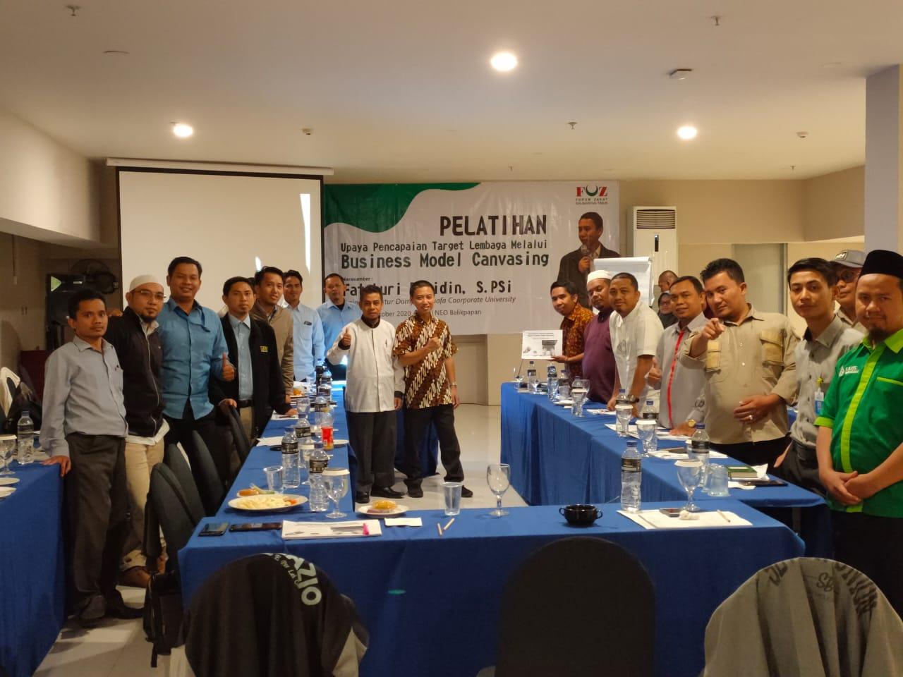 Kuatkan Kapasitas Lembaga, Forum Zakat Kaltim Gelar Pelatihan Bagi LAZ