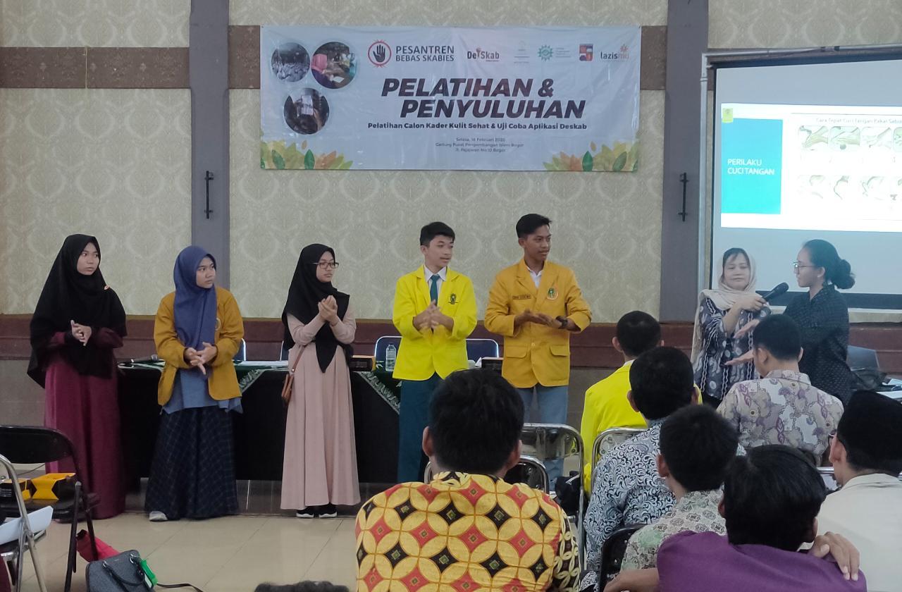 Lazismu dan FKUI Kolaborasi Gelar Pelatihan dan Penyuluhan Skabies bagi Santri Pondok Pesantren