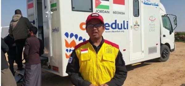 Mobil Clinic Sinergi PZU dan DT Peduli Komitmen Layani Pengungsi Suriah