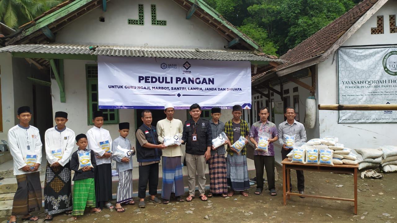 Gandeng HASMI, Baitulmal Tazkia Penuhi Pangan Santri Bogor Barat
