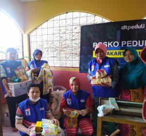 DT Peduli Dirikan Pos Peduli Bencana Banjir di Jakarta dan Bekasi