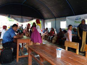 Rumah Yatim Adakan Layanan Kesehatan Bagi Korban Banjir di Mauk