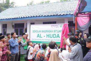 Dompet Dhuafa dan OVO Bangun Sekolah di Banten