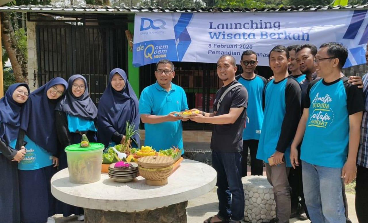 DQ Launching Wisata Berkah Di Wisata Qoem-Qoem Padusan Pacet, Mojokerto