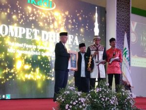 Dompet Dhuafa Raih Penghargaan 'The Most Favorite National Islamic NGO' dari IKADI