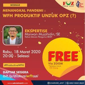 Sekolah Amil Indonesia (SAI) Sukses Gelar Webinar Gratis