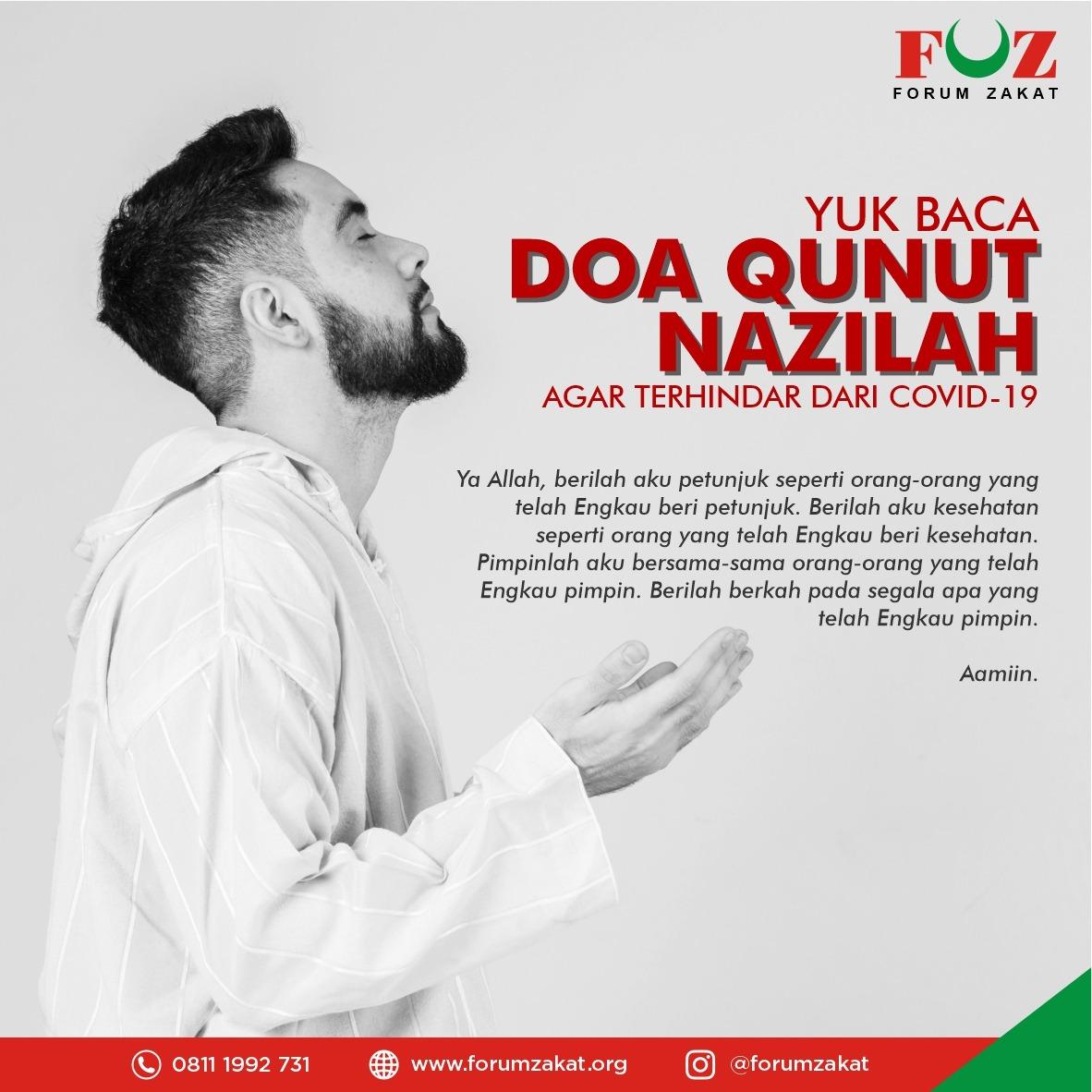 Yuk Baca Doa Qunut Nazilah Agar Terhindar dari Covid-19