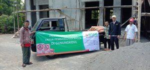 BMH Yogyakarta Bantu Pembangunan Masjid di Pelosok Gunungkidul