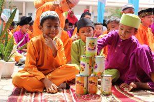 Lazismu Luncurkan Program Filantropis Cilik di SD Negeri 68 Pekanbaru