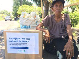 DSM Bali Bagikan 200 Paket Sembako