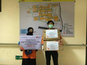 Rumah Zakat Salurkan APD Untuk Tenaga Kesehatan RSUD Ulin Banjarmasin