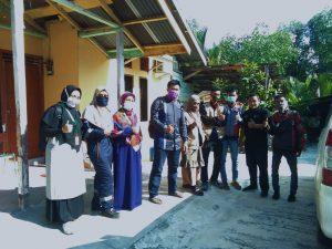 LAZ MHC Berangkatkan Pasien Kanker Payudara Stadium Tiga di Tengah Wabah Covid-19