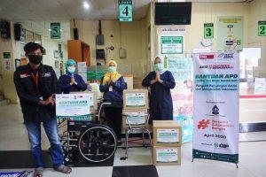 Global Zakat – ACT Distribusikan Bantuan APD untuk Tenaga Medis RSUD Kota Salatiga