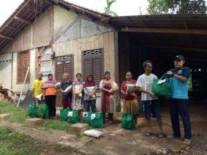 LAZ Nahwa Nur Distribusikan Paket Sembako Ramadhan