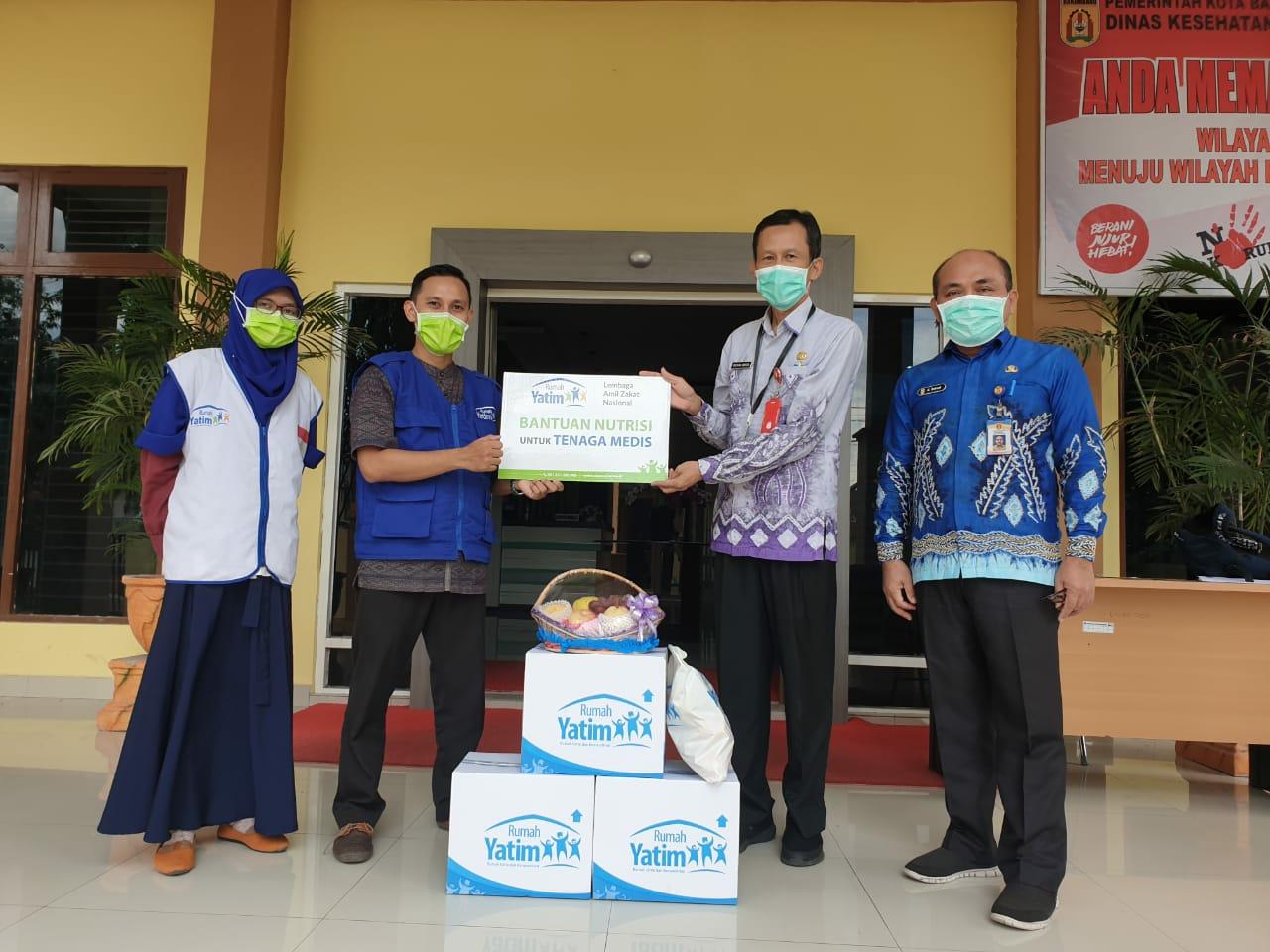 Sembilan Rumah Sakit dan Puskesmas di Kalsel Terima Bantuan APD dan Nutrisi