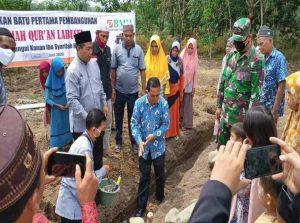 Kuatkan Dakwah, BMH Dirikan Rumah Quran di Labuhan Batu Selatan