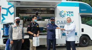 YBM PLN Lakukan 'Solidarity Food Truck' Untuk Pejuang Medis Covid 19