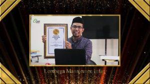Selamat! Laznas LMI Raih Penghargaan Fundrising Penggalangan Dana Langsung Terbaik Nasional