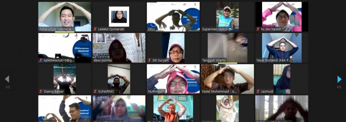 Beasiswa Lestari Astra Kukuhkan 96 Fasilitator dari Seluruh Indonesia
