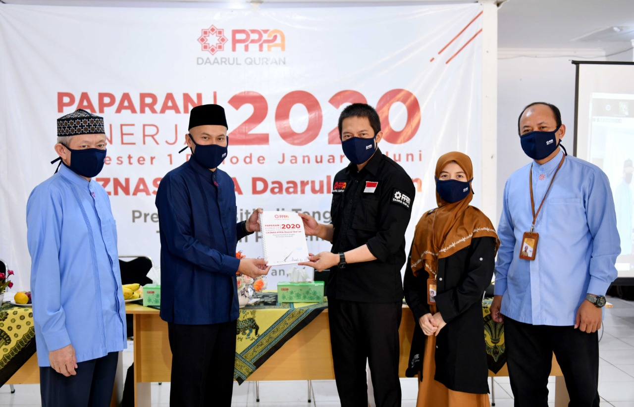 Meski Pandemi Covid-19, Laznas PPPA Daarul Qur'an Mampu Tumbuh 70 Persen