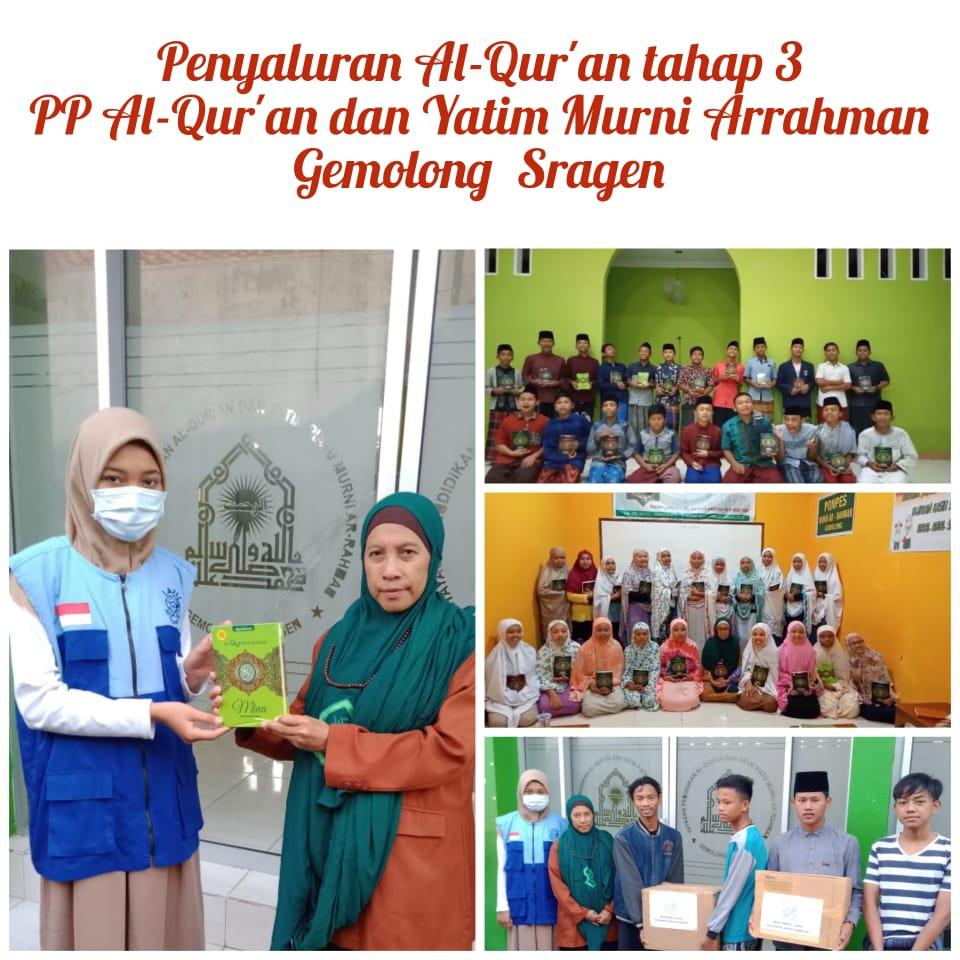 Lazis Al Haromain Salurkan 1.170 Sedekah Al Qur'an di Jogjakarta dan Sekitarnya
