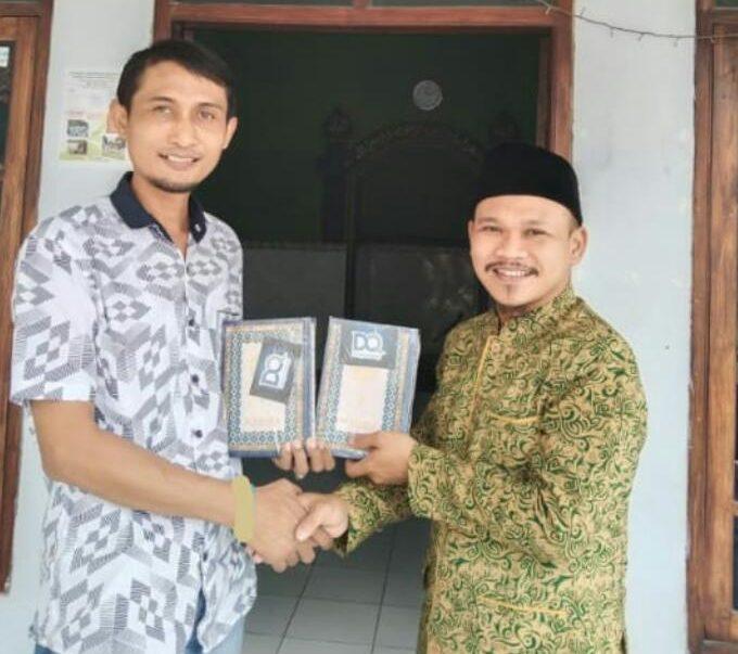 DQ Bagikan Al-Qur'an untuk Mushola dan Masjid di Daerah Pelosok