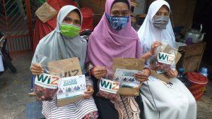 Bahagiakan Dhuafa di Hari Raya, WIZ Serentak Salurkan Daging Qurban di Tiga Lokasi
