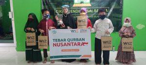 Berkah Qurban WIZ Jakarta Bersama Santri Yatim Dhuafa Cikal Cendikia Salsabila