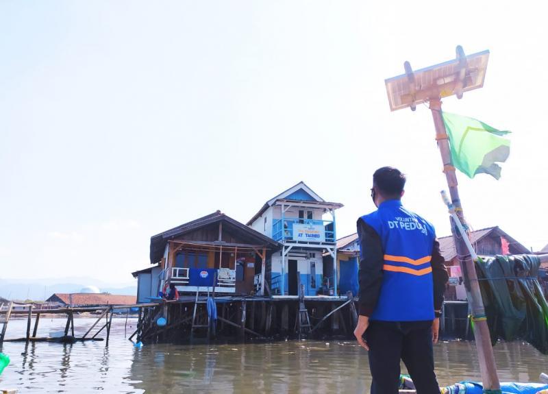 DT Peduli Lampung Ajak Renovasi TPA Terapung