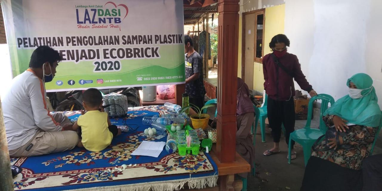 "LAZ DASI NTB Edukasi Masyarakat ""Jadikan Sampah Menjadi Berkah"""