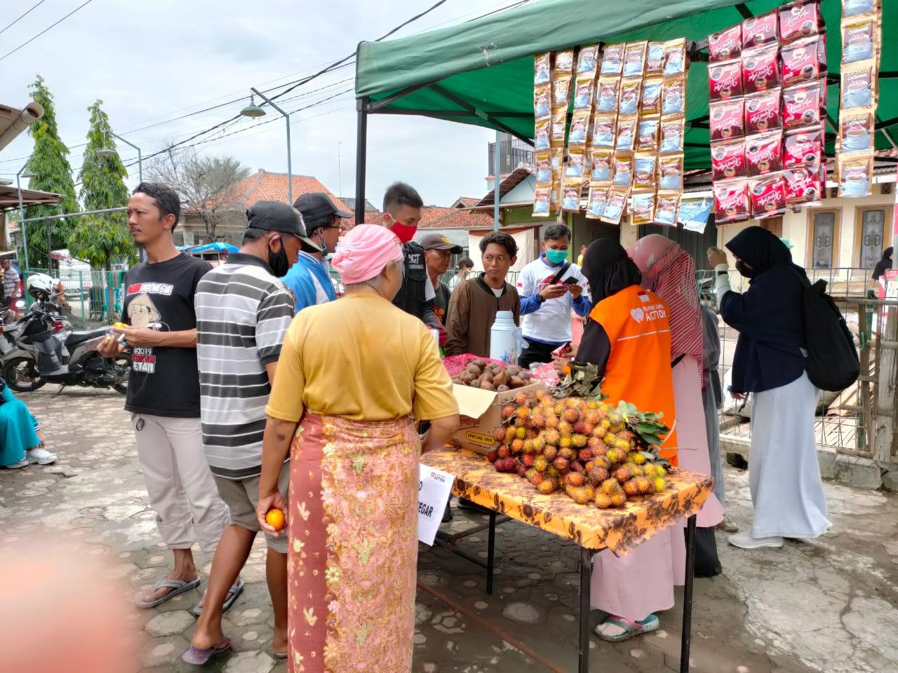 Layanan Pos Segar Rumah Zakat Action Bantu Warga di Lokasi Bencana
