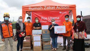 PT TD Williansom Beri Bantuan Logistik untuk Pos Bersama Tim Evakuasi Sriwijaya Air SJ182 Rumah Zakat
