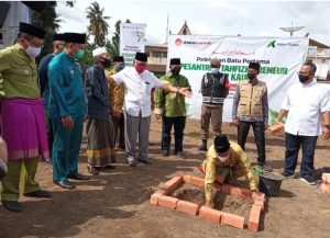 Askar Kauny Resmikan Pembangunan Pesantren Quran di Jambi