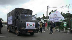 Anggota FOZ DKI Jakarta dan IPCN Lepas Bantuan untuk Korban Gempa Sulbar
