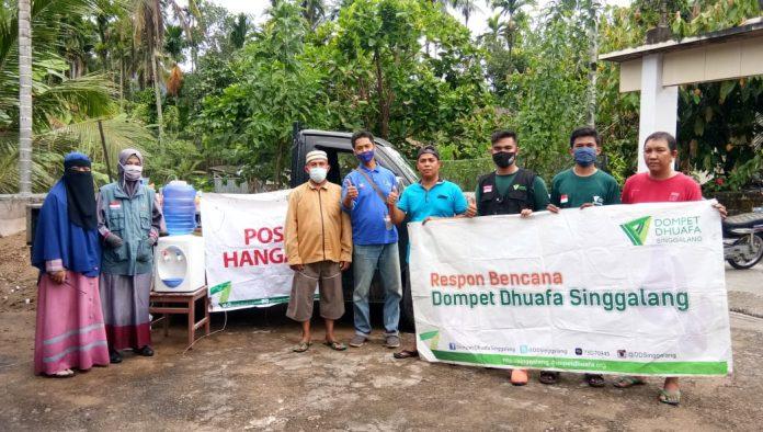 Dompet Dhuafa Volunteer Sumbar Terjunkan Tim ke Lokasi Banjir Koto Gadang